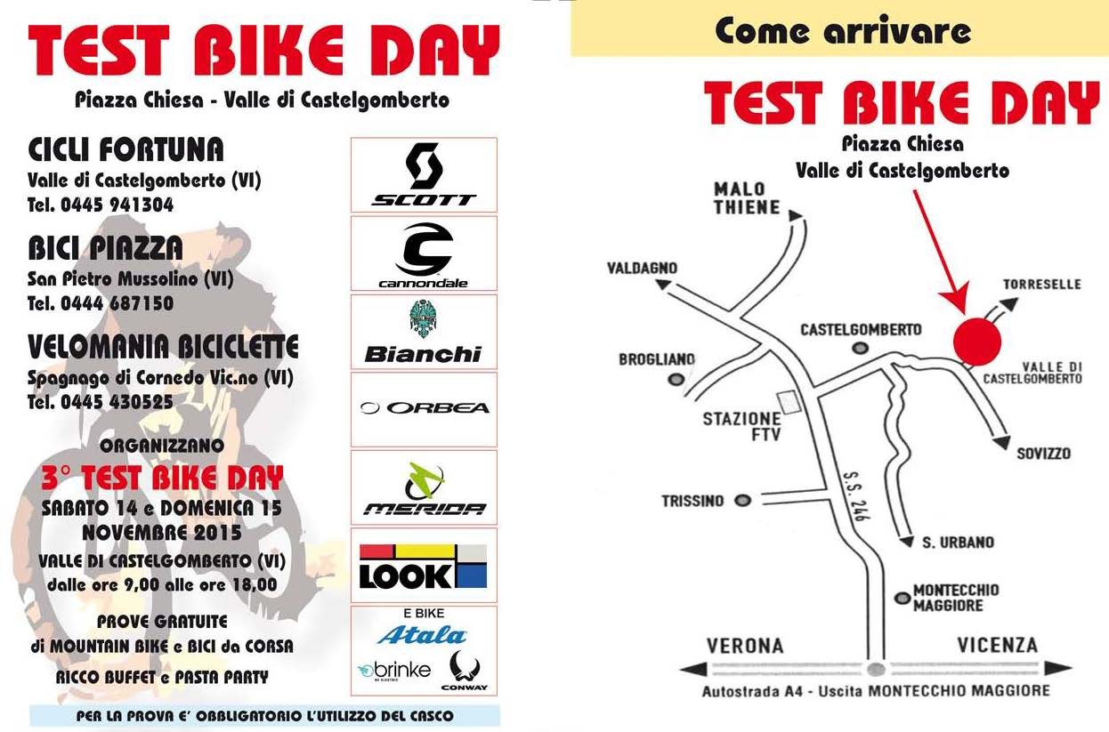 TEST BIKE DAY 2015